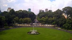 Vista dal Reunification Palace