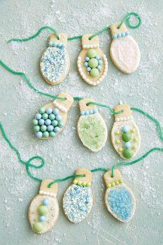 Christmas Light Sugar Cookies Recipe