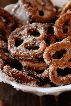 Cinnamon Pretzels Recipe