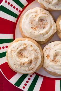 Melt-In-Your-Mouth Eggnog Cookies   Cooking Classy