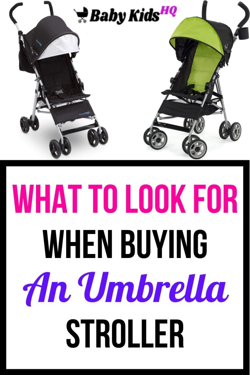 What To Look For When Buying An Umbrella Stroller