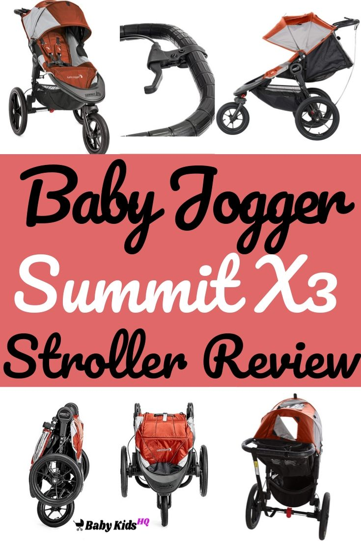 Baby Jogger Summit X3 Single Stroller Review