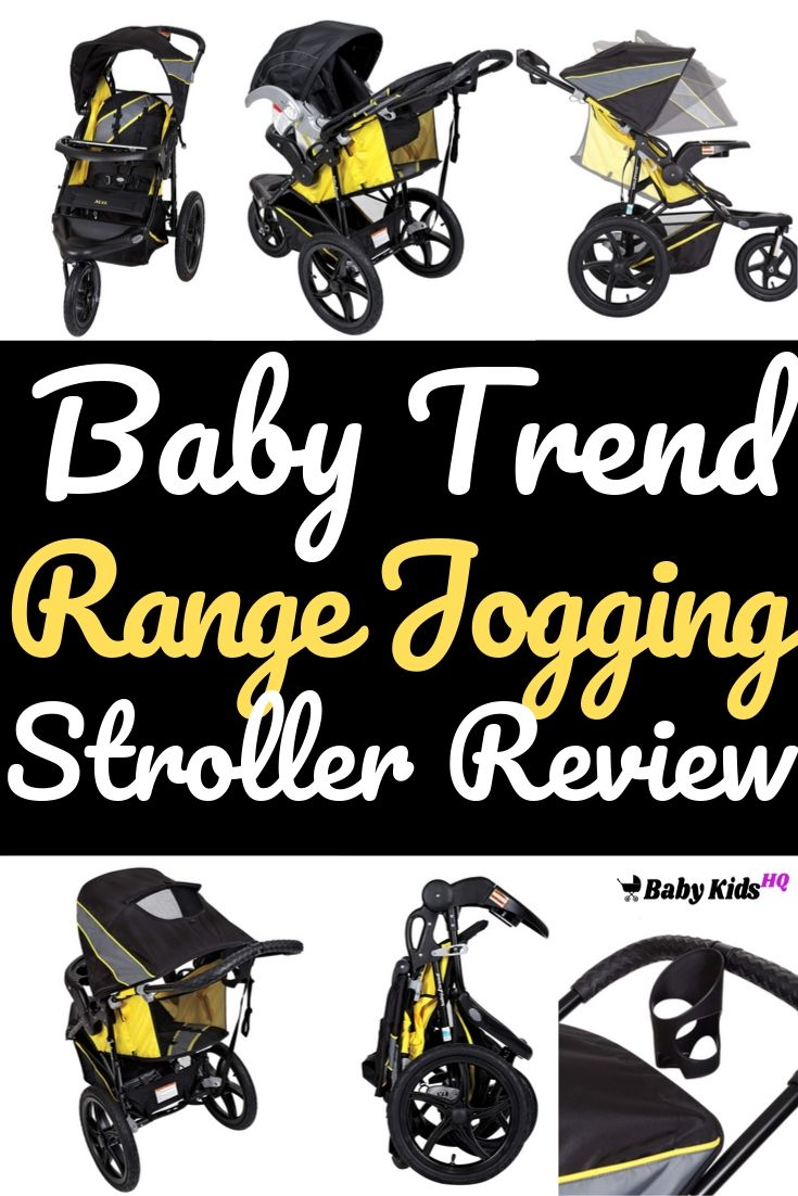 Baby Trend Range Jogging Stroller Review 1