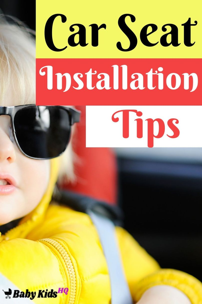 Car Seat Installation Tips How to Install Safely