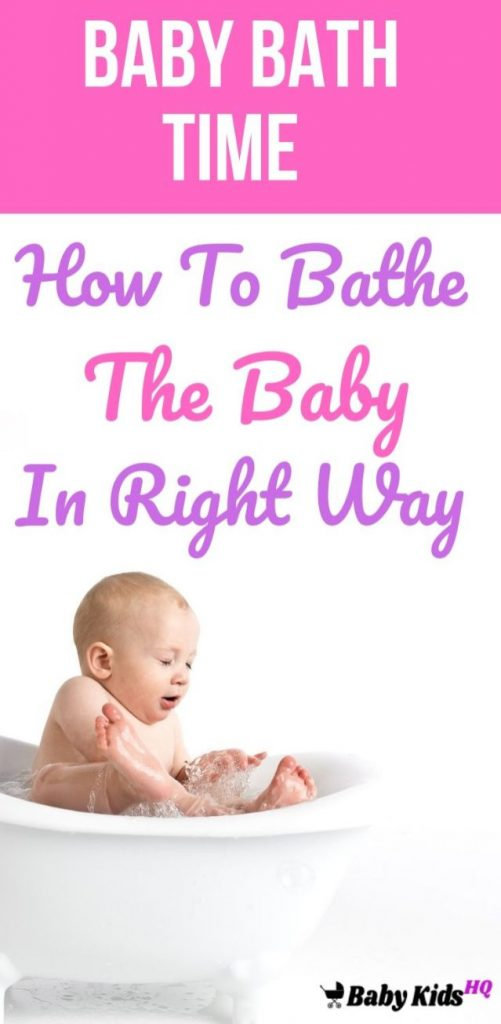 Baby Bath Time: How To Bathe The Baby In Right Way