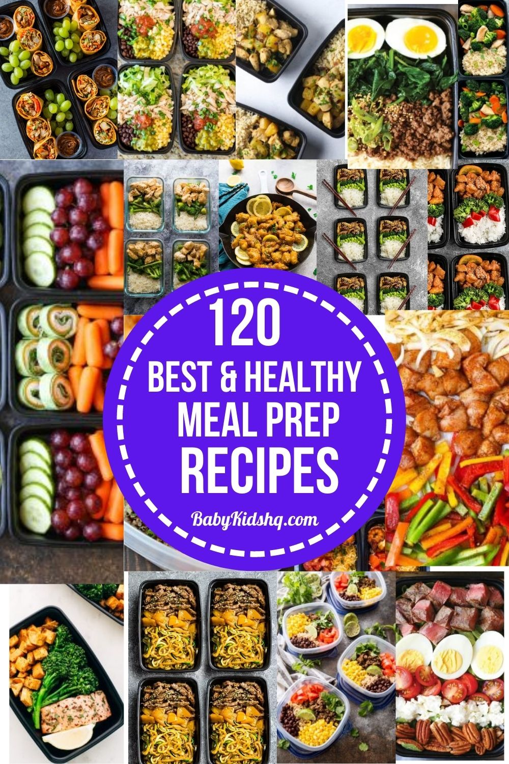 120 Best and Healthy Meal Prep Recipes 35