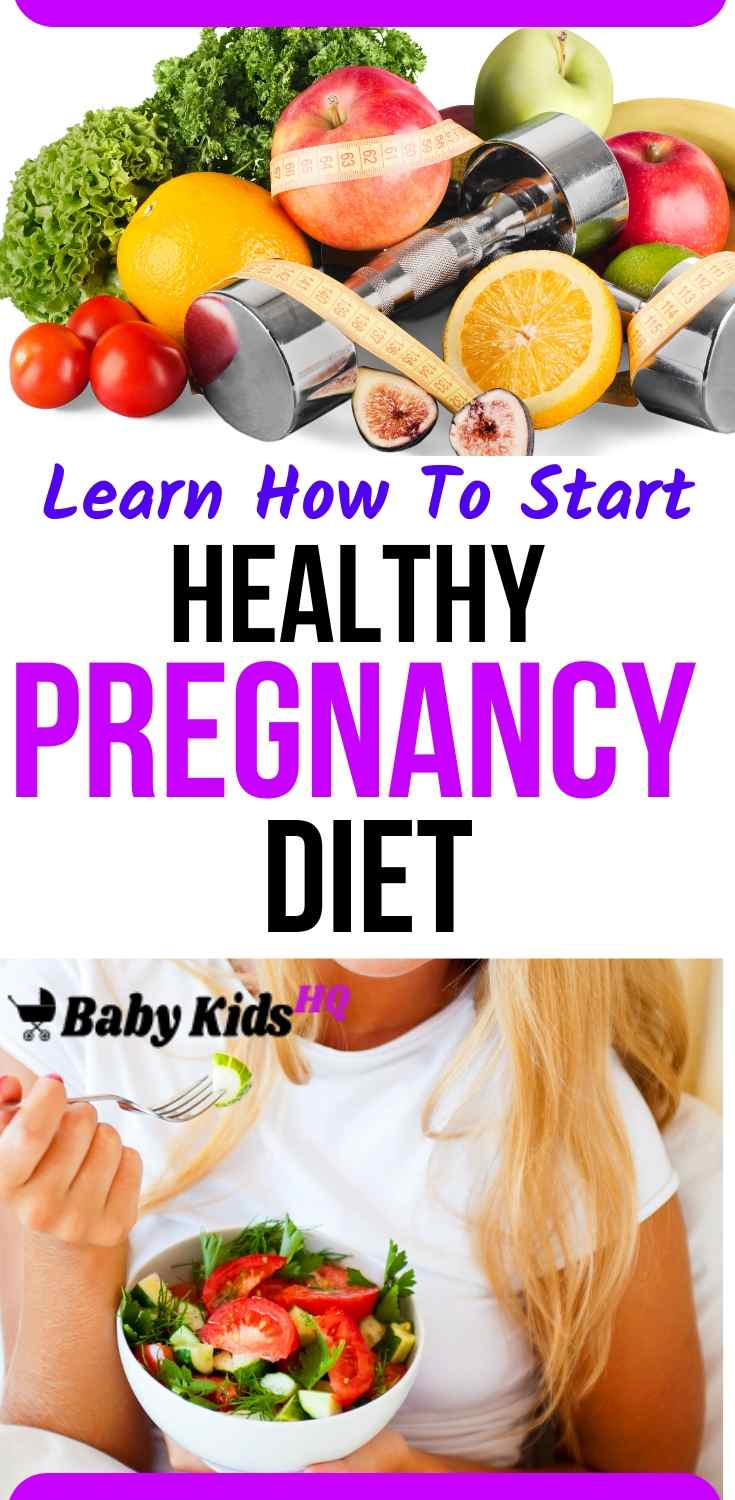 Learn How To Start Healthy Pregnancy Diet 1