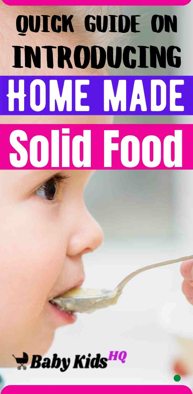 Introducing Home Made Solid Foods: A Quick Guide 2