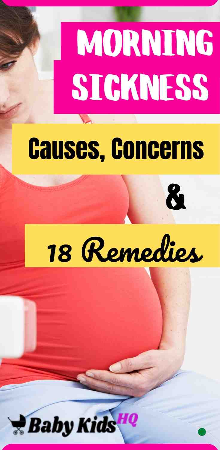 Morning sickness: Causes, Concerns And 18 Remedies 3