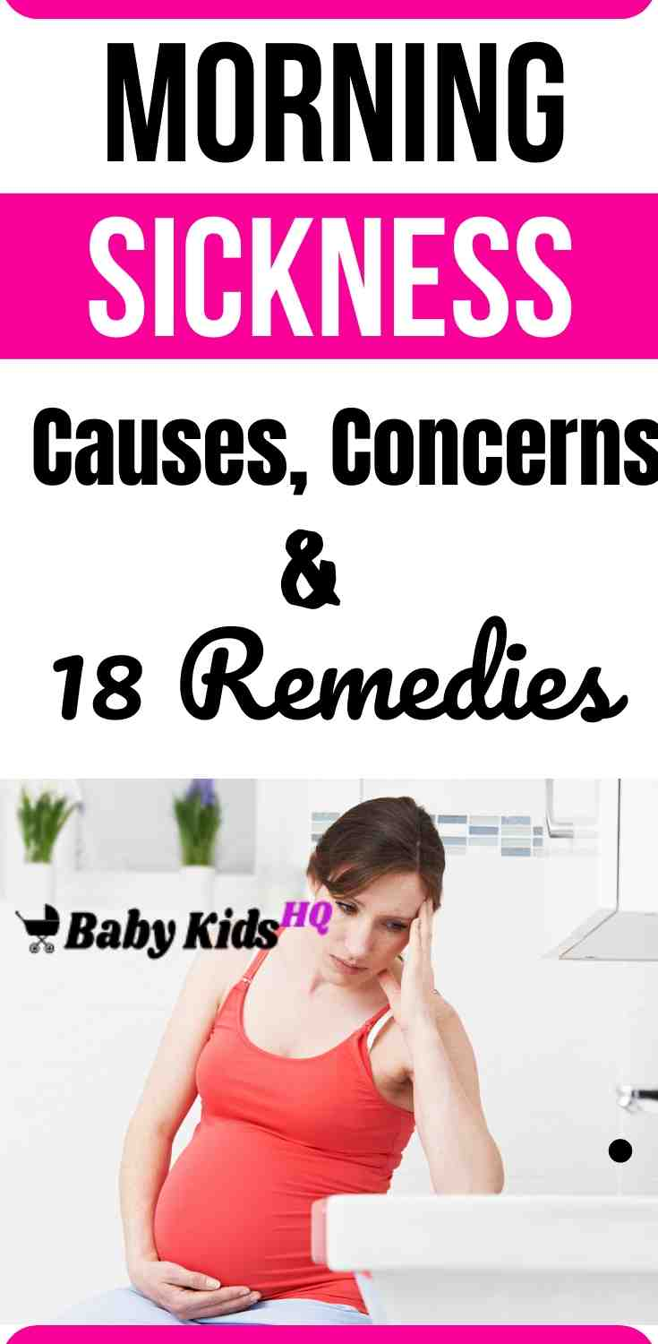Morning sickness Causes, Concerns And 18 Remedies