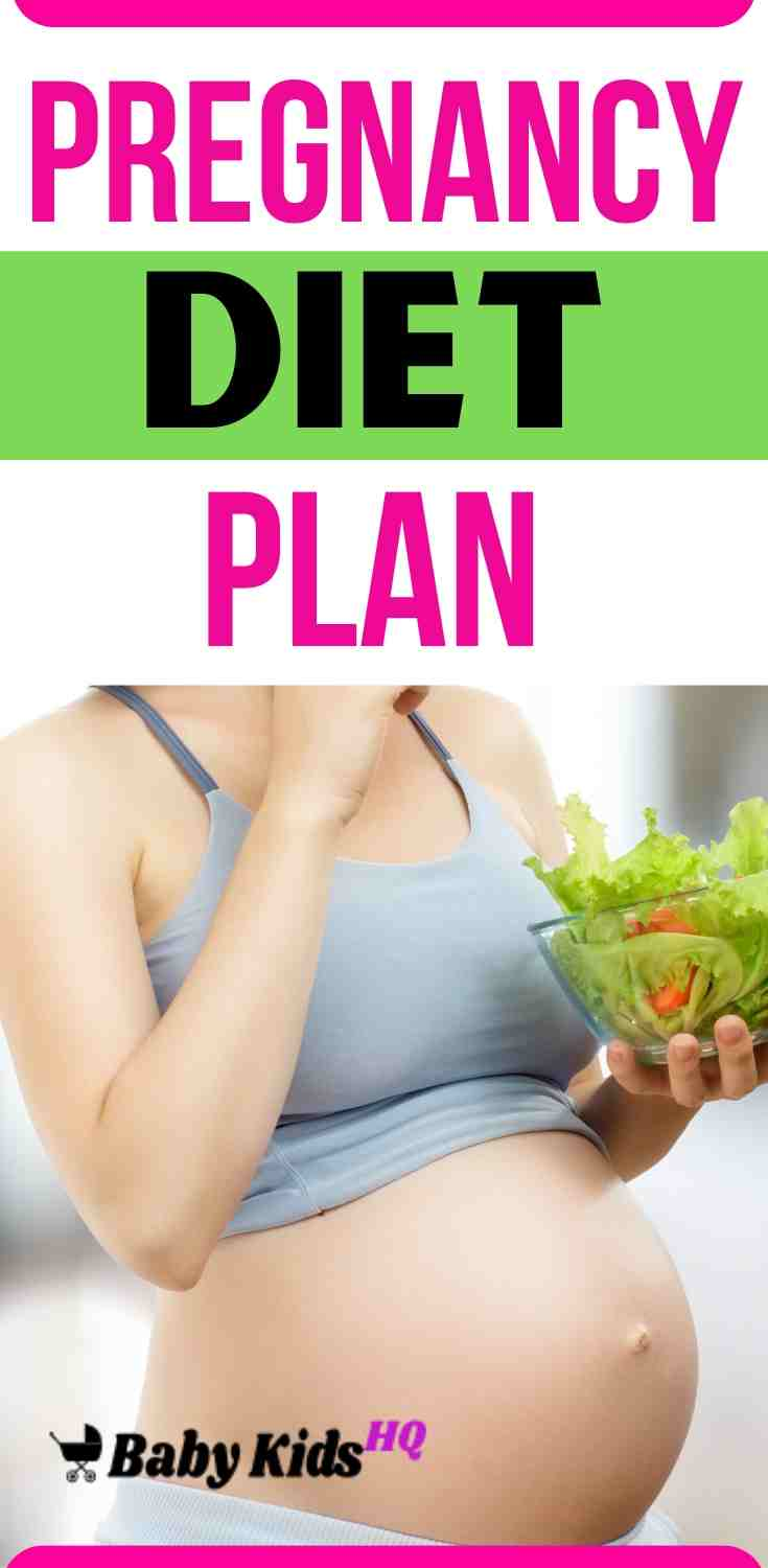 Here Is Your Healthy Pregnancy Diet Plan