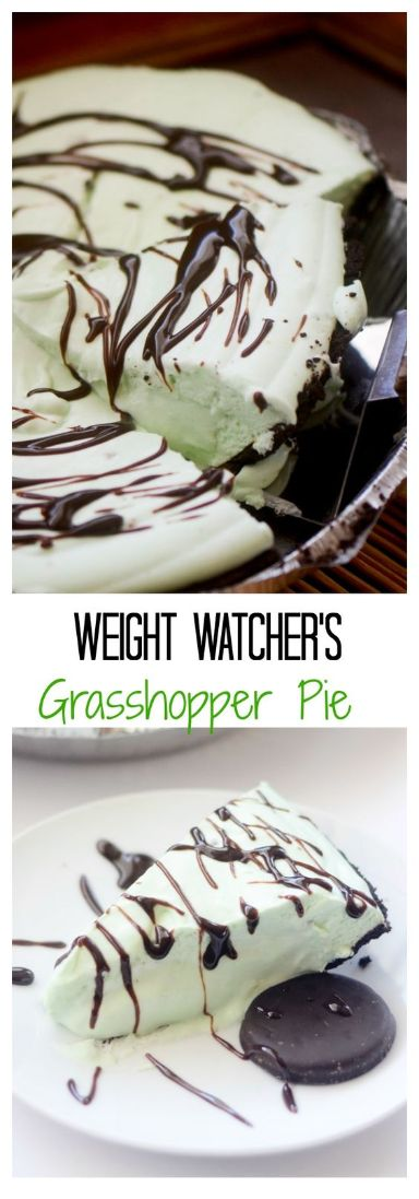 Weight Watchers Frozen Grasshopper Pie