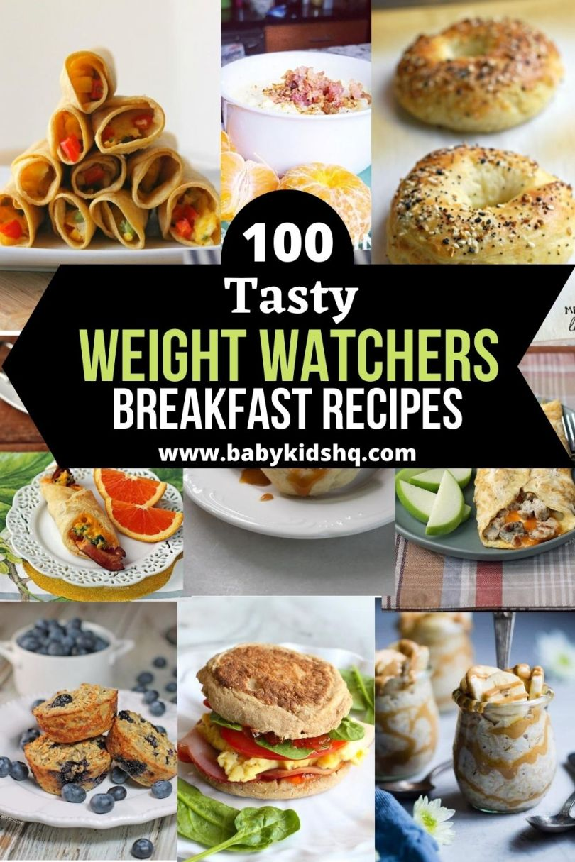 100 Weight watchers breakfast Recipes