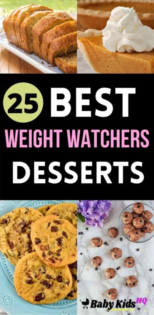 25 Tasty Weight Watchers Desserts With Smart Points