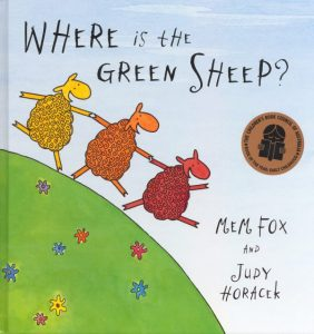Where is the Green Sheep book cover