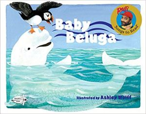 Baby Beluga book cover