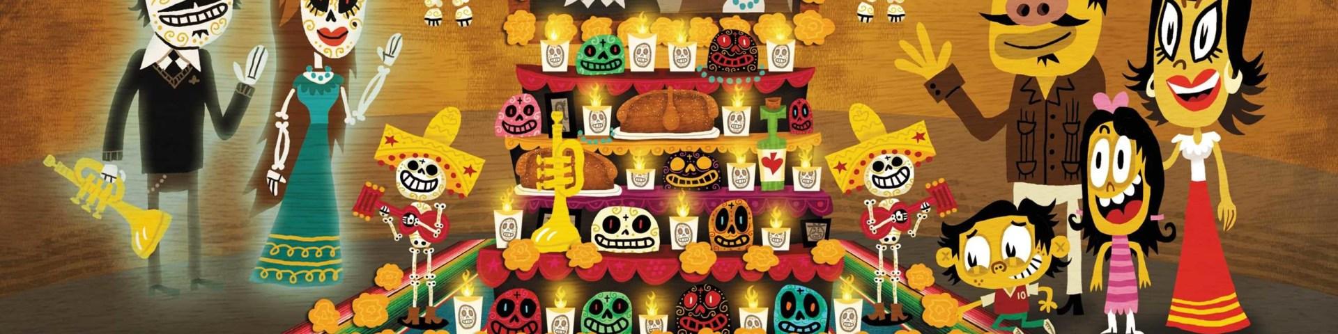 Dia de los Muertos Spread