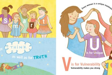 Spread from My Feminist ABCs