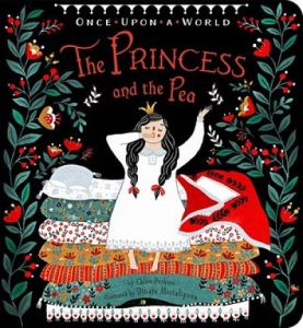 Cover of The Princess and the Pea by Chloe Perkins