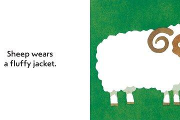 Spread of What do you wear? by Taro Gomi