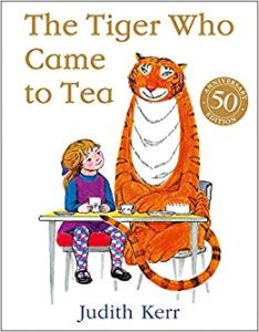 The Tiger Who Came to Tea book cover