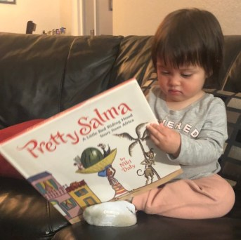 Tilly reads Pretty Salma