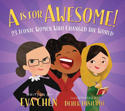 Cover of A is for Awesome by Eva Chen