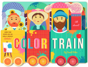 Cover of Color Train by David Miller