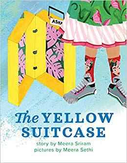 Cover of the yellow suitcase by meera sriram