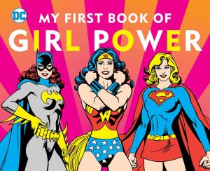 cover of my first book of girl power by merberg
