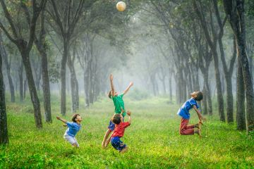 children playing outside featured image