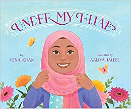 Cover of Under my Hijab by Khan