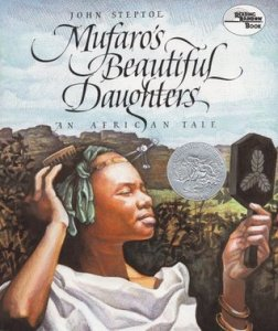Cover of Mufaro's Beautiful Daughters by Stepoe
