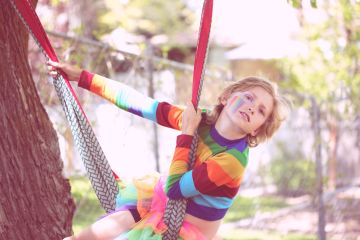 Little boy wearing rainbow colors, featured image