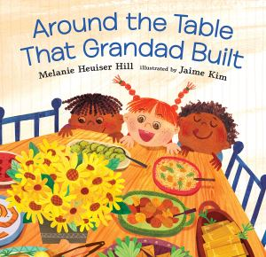 Cover of Around the Table that Grandad Built by Hill