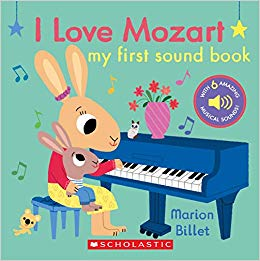 cover of I love mozart by Billet