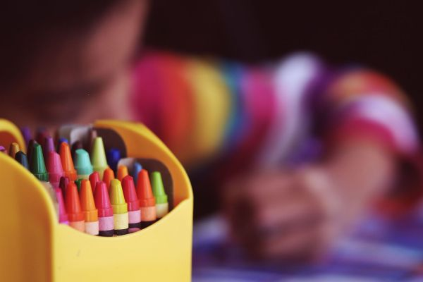 crayons art featured image