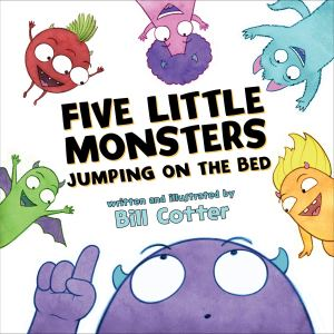 cover of five-little-monsters-cotter