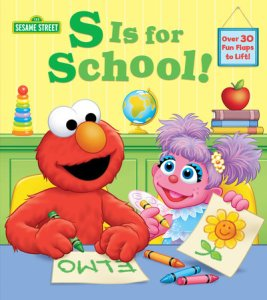 cover of s-is-for-school-sesame-street