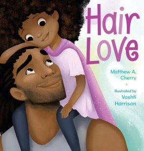 cover of hair love by cherry