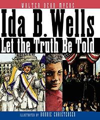 cover of ida b wells let the truth be told