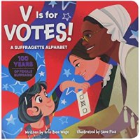 Cover of V is for Votes by Wage