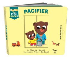 Pull and play books: pacifier book cover