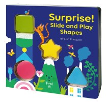 Book cover of SURPRISE! Slide and Play Shapes by Fouquier