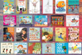An image of 28 picture book 2021 releases