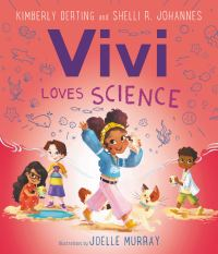 Book cover of Vivi Loves Science by Derting