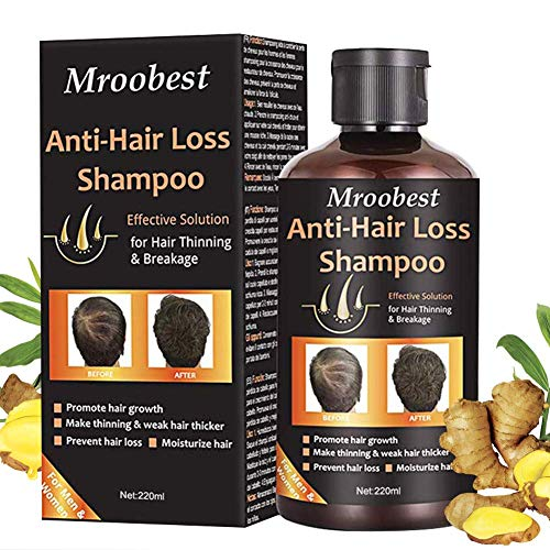 Anti Chute Cheveux, Shampoing Anti Chute, Hair loss shampoo, Hair Growth Shampoo, Traitement de Perte de Cheveux Pour Les Hommes et Femmes, Favoriser la Croissance des Cheveux - 220ml