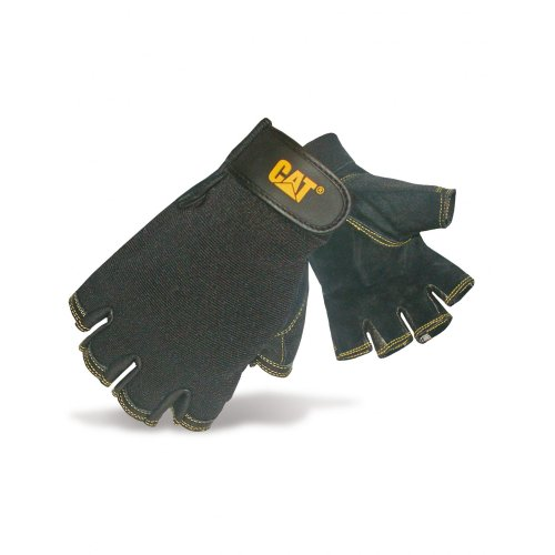 Caterpillar 12202 - Mitaines en cuir de porc retournée - Homme (Large) (Noir)