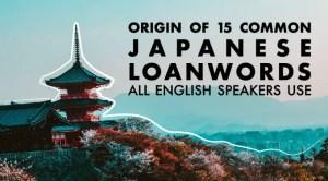 Japanese loanwords