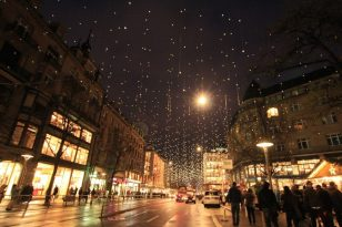 places with the best Christmas
